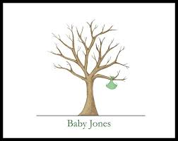 Best 25 Baby Shower Thumbprint Guest Book Ideas On Pinterest Fingerprint Baby Shower Tree