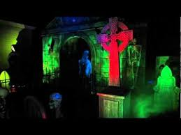 haunted house lighting ideas. the haunting grounds home haunt 2014 youtube lighting ideasmoonlight haunted house ideas