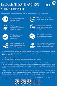 Satisfaction Survey Report Rec Client Satisfaction Survey Report Rec Ltd Uk