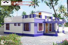 Simple Design Home Fascinating Ideas Simple Design Home Mesmerizing Sq Ft  Amazing And Beautiful Kerala Home