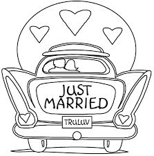 Small Picture Wedding Coloring Pages Coloring Kids