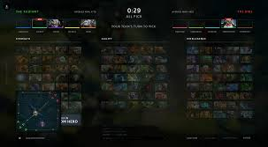 dota 2 all pick ui redesign album on imgur