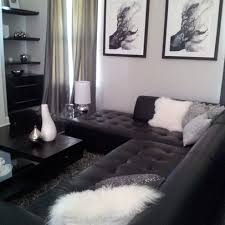 Captivating Black Couch Grey Walls Living Room   Google Search Awesome Ideas