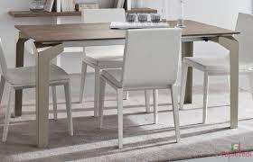 Tavolo allungabile in legno shabby chic con 4 sedie firenze shabby