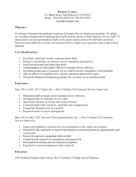 Customer Service Resume Sample Free Free Customer Service Supervisor Resume Template Sample MS Word 20