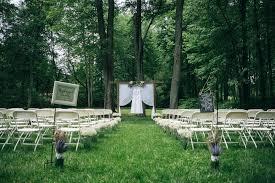Summer Backyard Wedding Ceremony  Lace Dress  Modest Wedding Summer Backyard Wedding