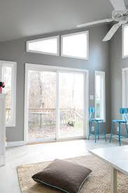 sunroom paint colorsHow To Paint Extra High Vaulted Ceilings  Young House Love