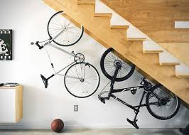 Bike hanger for apartment Minimalist 20 Minimalist Bike Storage Ideas For Tiny Apartments Homecrux 30 Minimalist Bike Storage Ideas For Tiny Apartments pictures