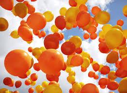 Image result for orange balloon