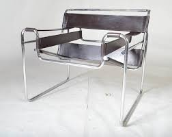 An incredible icon  this vintage Wassily Chrome chair is a superb example  of one of Marcel Breuer's most influential works of furniture. Also know