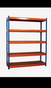 5 shelves racking shelving system garage shed big dug storage