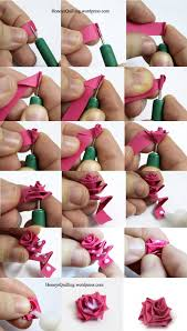Free Tutorial: How to Make a Paper Quilled Rose featured in Sova ...