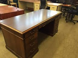 Used fice Desks EXECUTIVE DESK by KIMBALL OFFICE FURNITURE at