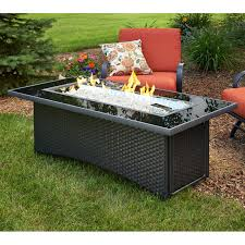 smart propane fire pit tables luxury outdoor greatroom monte carlo fire pit table with free glass