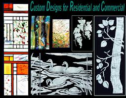 etched glass stained glass repair cast glass fused glass