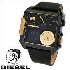 windpal rakuten global market diesel diesel watch men watch diesel diesel watch men watch digital x analog leather belt black x gold dz7196 dz7196