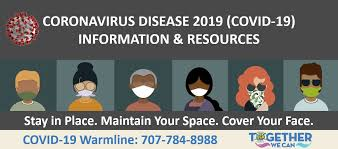Keep the elderly and those with underlying conditions safe. Solano County Coronavirus