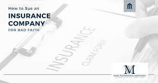 Your first action, assuming you've exhausted dealing with the company, should be to write the insurance department in your state and complain. How To Sue An Insurance Company For Bad Faith Disability Denial