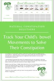 Stool Movement Chart Track Childs Bowel Movements To Help Solve Their