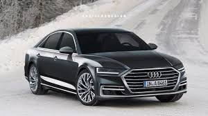 2018 audi a8 rendering previews this year s all new model