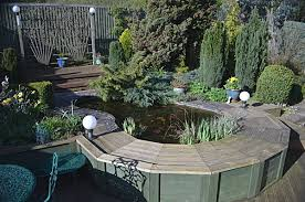Small Picture Raised Pond Gallery Garden Pond Specialists Any Pond Limited