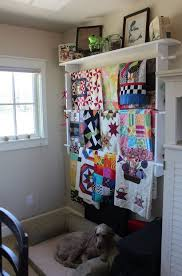 Best 25+ Hanging quilts ideas on Pinterest | Quilt hangers ... & Hanging Quilts R: Creates storage & texture for bedroom wall #sew #quilting… Adamdwight.com