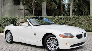 Coupe Series 2004 bmw roadster : 2004 BMW Z4 2.5i Roadster for sale near Fort Myers Beach, Florida ...