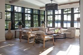 lake cabin furniture. Rustic Modern Lake House-Anne Hepfer Designs-07-1 Kindesign Cabin Furniture R