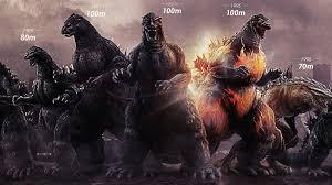 Godzilla Evolution Chart Godzilla Grew 30 Times Faster Than Any Organism On Earth