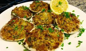 Baked Clams Oreganata Recipe – Cait ...