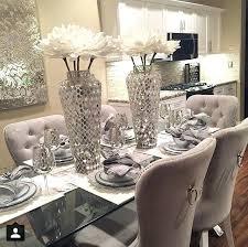 glass table centerpiece ideas table glamorous elegant dining decor 9 room ideas astonishing design plus best