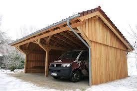 Carports Carport Mit Aufbau Kaufen Carport Mit Schuppen Seitlich