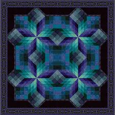 Quilt Kits > Stained Glass Star Quilt Kit (2015) - Large & Stained Glass Star 2015 Large Adamdwight.com