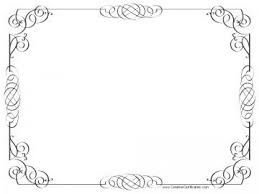 Certificate Outline Certificate Clipart Printable Certificate Printable