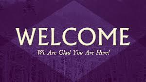 Welcome Purple Purple Welcome Glenpoolchurchofchrist Com