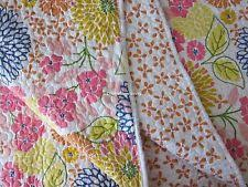 Cynthia Rowley Polyester Quilts, Bedspreads & Coverlets | eBay & CYNTHIA ROWLEY CHIC Floral 2pc TWIN Quilt SET Blue Pink Yellow Green Orange  NEW Adamdwight.com