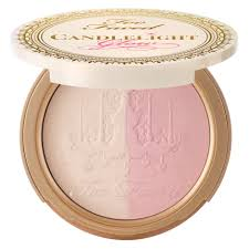 too faced candlelight duo rosy glow