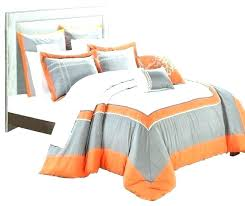 gray and orange bedding orange and gray bedding sets orange bed sheets interior incredible orange and