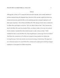 example of a rhetorical essay resume examples essay rhetorical  first draft rhetorical analysis essay