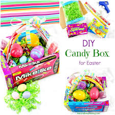 diy candy box easter baskets