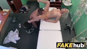 Fake Hospital Big tits horny Milf chiropractor fucks doctor after.
