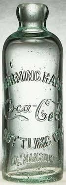 Antique Coca-Cola Bottle Hall of Fame Property of Coca-Cola Botttling Co.  Rare Hutchinson Coke with Coca-Cola in script.