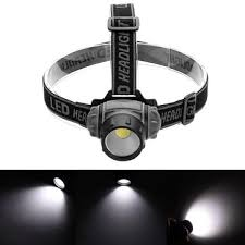 bikight 550lm <b>cob led headlamp</b> 3 modes lightweight camping light ...