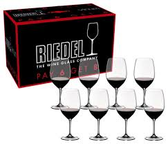 riedel vinum cabernet sauvignon merlot bordeaux pay 6 get 8 glasses set of