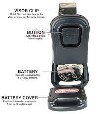 genie gict390 1bl garage door opener compact 1 on intellicode remote replacement