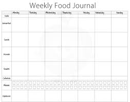 free food journal template 5 free food journal templates excel pdf formats