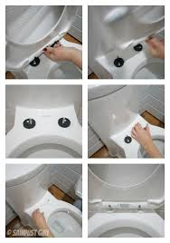 toilet talk installation of a one piece wonder sawdust toilet seat fitting types