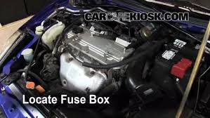 replace a fuse 2000 2005 mitsubishi eclipse 2001 mitsubishi locate engine fuse box and remove cover