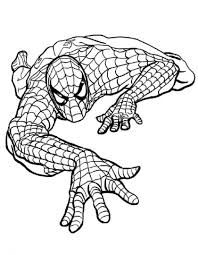 Spiderman Da Colorare On Line Fredrotgans