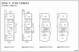 brownstone floor plans best of house fresh 45 simple row plan